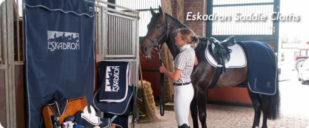 Eskadron saddle cloths 2