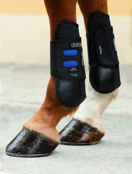 Speed Showjumping boots- front