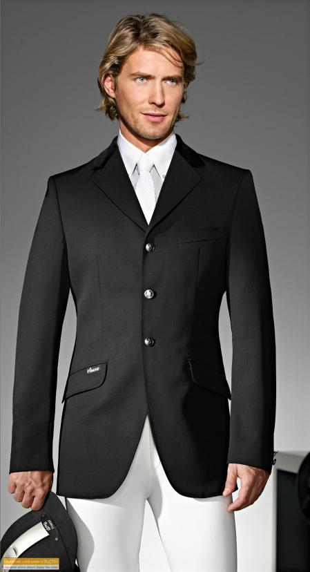 Delgado Black Show Jumping Jacket