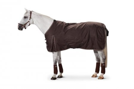 Ripstop outdoor horse rug : fleece inner lining